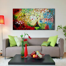 Large Canvas Art Wall Picture Landscape Money Tree Oil Painting Home Decoration