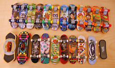 Lot of 22 Finger Skateboards 8 are Tech Deck