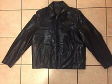 Vintage Rogue Leather Jacket Reilly Olmes smooth black Jacket VGUC