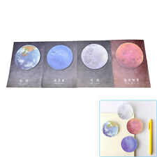 1Pc Planet Memo Pad Notebook Sticky Note Portable School Stationary New SP