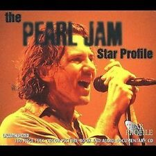 SEALED CD and Book Pearl Jam The Pearl Jam Star Profile 1997 Mastertone Multi...