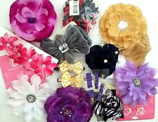 Hair Flowers Clips Ponytail Headbands Jewelry For Hair Or Clothing Variety Lots
