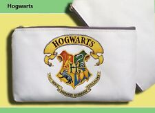Custom New Harry Potter Hogwarts Pencil Bag Canvas Pen Pencil Bag Coins Bag
