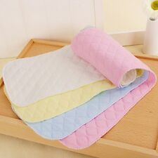2016 New 1Pc 3 Layer baby Diapers Cloth Cotton Washable Nappy Changing Liners