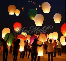 1/5pcs Sky Flying Paper Lanterns KongMing Lucky Light Wedding Assorted Colors  み