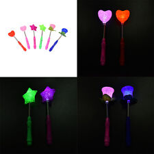 Best LED Magical Star Wand Flashing Lights up Glow Sticks Party  Xmas Halloween#