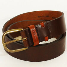 Ted Baker Belt Centura Mens belt Real Double Leather Loop Belt made in England