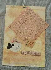 10pc Prima Marketing mixed media lot2. Scrapbooking, journaling, card making