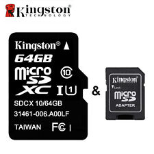 Kingston Micro SD Card SDHC/XC 16G 32GB 64GB TF Flash Memory Card for Smartphone