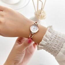 Girl Ladies Womens Stainless Steel Rhinestone Watches Crystal Quartz Wrist Watch