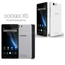 """HOT 5.0"""" DOOGEE X5 3G MTK6580 Quad Core Smartphone Android 5.1 8GB Dual SIM M2Y6"""