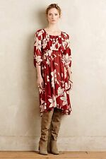 NEW Anthropologie Boho Floral Laelia Midi Dress by Maeve Size 4