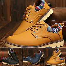 Fashion England Men's Breathable Recreational Sports Warm Shoes Casual Shoes
