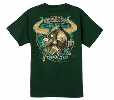 Guy Harvey University of South Florida Bulls T-Shirt w/Free Decal---Brand New--