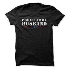 Proud Army Husband - Funny T-Shirt