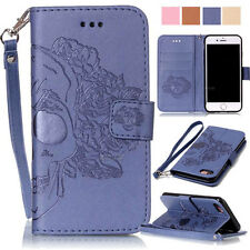 BOYA Magnetic PU leather wallet case flip carrying folio card holder strap stand