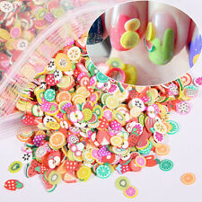 1000x Nail Art Mix Design Fimo Slices Polymer Clay Stickers Decoration DIY