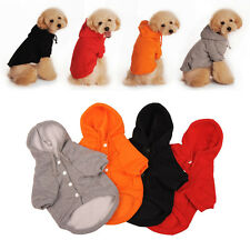Cute Pet Dog Cat Hoodie Puppy Clothes Sweater Jacket Coat Costume Winter Warm BD
