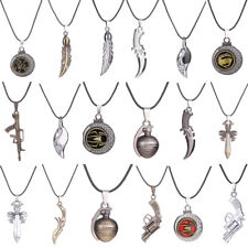 Fashion Boys Girl Lots Style Toy Pendant Necklace Chain Stainless Steel Jewelry