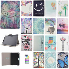 """Cute Patterns Case for Amazon Kindle Fire HDX 7.0""""/8.9"""" PU Leather Wallet Cover"""