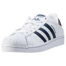 adidas Superstar W Womens Trainers White Navy New Shoes
