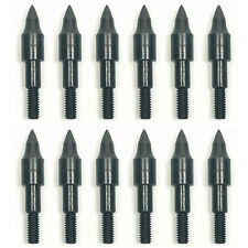 Lot Hunting Training Practice Target Field Points Broadheads 100 Grain Black