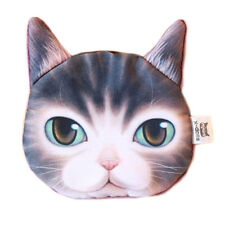 3D Animal Cute Cat Face Zipper Case Coin Women Girls Purse Wallet Bag Pouch Cute