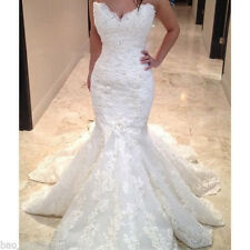 Sweetheart Lace Wedding Dress Bridal Gown Custom Size 2 4 6 8 10 12 14 16 18 20+