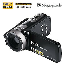 3'' Full HD 1080P 24MP Digital Video Camcorder Camera DV HDMI TFT LCD 16X ZOOM