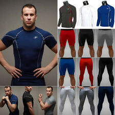 Men Compression Thermal Under Base Layer Top Long Sleeve Tights T-shirt Pant Set