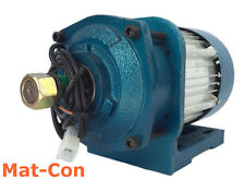 Planetary geared gearbox E-Motor 3KW-5KW 48V BLDC 120Nm-180Nm 600rpm reverse