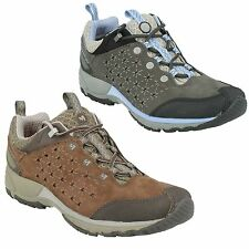LADIES MERRELL AVIAN LIGHT LEATHER WALKING HIKING TRAINERS SHOES
