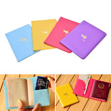 Airplane Pattern Passport ID Card Cover Case Holder Protector Exquisite NT
