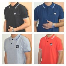 STONE ISLAND SHORT SLEEVE POLO SHIRT
