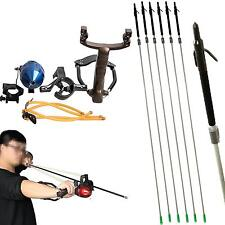 Fishing Shooting Slingshot Catapult Archery Hunting Slingbow Fish Carbon Arrow