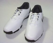 Nike Golf Air Rival III Golf Shoe,Synthetic Upper,White/Charcoal/Black,Wide, New