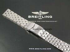 STEEL WATCH BRACELET STRAP FOR BREITLING NAVITIMER CHRONOMAT ALL 20 22MM WATCHES