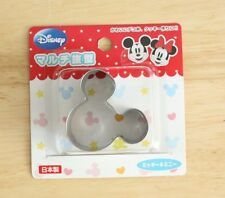 Disney Mickey Minnie Mouse Ribbon Cookie Ham Cheese Cutter Mold punching