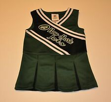 NWOT New York Jets Girls Infant Cheerleader Dress Toddler Baby Shirt T-shirt