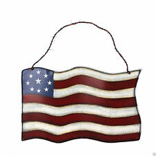 July 4th Metal American Patriotic Flag Hangging Wall Art Decor Home Decoration