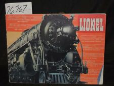 Lionel Lionel Train Railroad Catalog Magazine