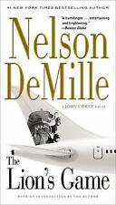 The Lion's Game by Nelson DeMille-A John Corey Novel Fictional (Paperback) 2015