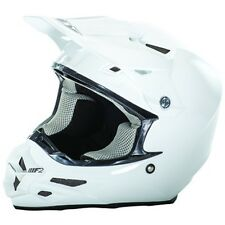 FLY Racing F2 CARBON Motocross Helmet Solid White