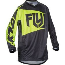 FLY ATV Patrol Motorcycle Jersey Black/Yellow