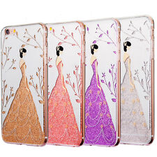 Hot Glitter Wedding Girl Phone Case Cover Shell For iphone6s/6s Plus 7/7 Plus