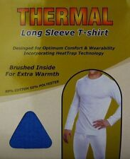 WINTER THERMAL LONG SLEEVE T SHIRT VEST UNDERWEAR WARM FOR MENS SIZE S-XXL