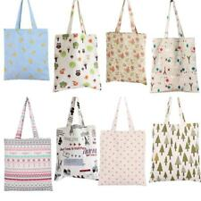 Fashion Womens Canvas Storage Pouch Reusable Shopping Bag Tote Folding Handbag