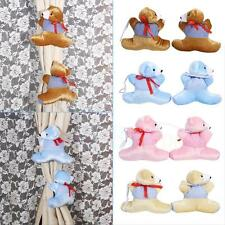 Hot Cartoon Curtain Tieback Buckle Bear Holder Nursery For Baby Kids Bedroom