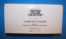 Dept. 56 Come Into the Inn- Heritage Village Collection Retired #5560-3 NIB