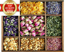 Various Dried Flowers- Bath Bomb ,Soap Candle Making, Confetti Potpourri, Crafts